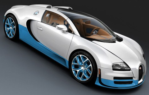 2012 bugatti veyron grand sport vitesse bianco and new light blue best auto c. Black Bedroom Furniture Sets. Home Design Ideas